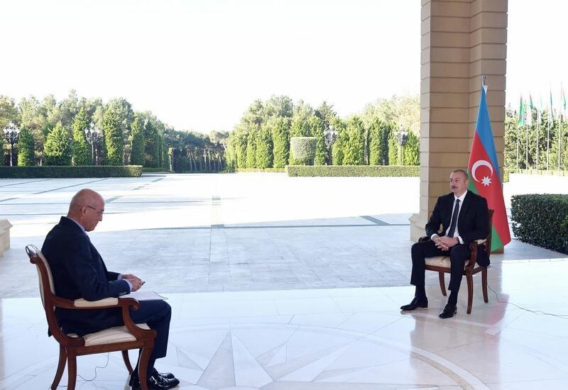 Zəfər xronikası 15 oktyabr 2020-ci il: Prezident İlham Əliyevin Türkiyənin NTV televiziyasına müsahibəsi