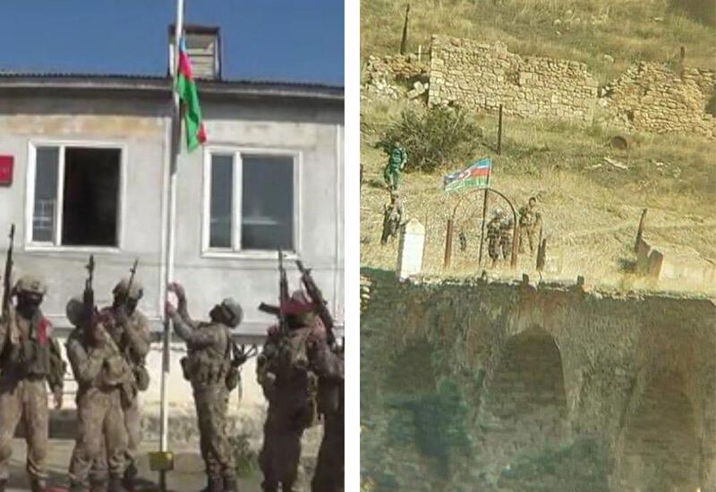 Хроника Победы - Азербайджанский флаг взвился над Физули и Худаферином - 18 октября