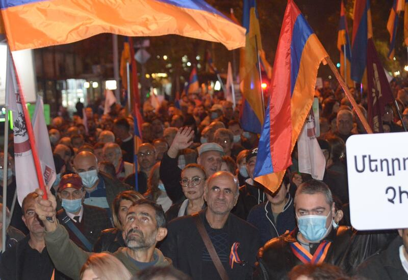 Антипутинская Армения: