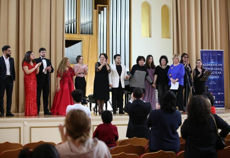 100 лет богатства - Азербайджанский международный фестиваль вокалистов