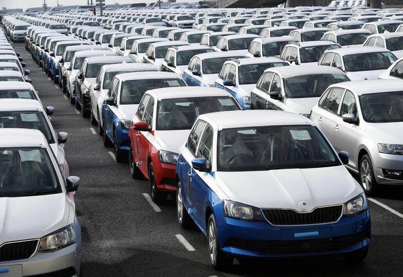 В Европе упали продажи новых автомобилей