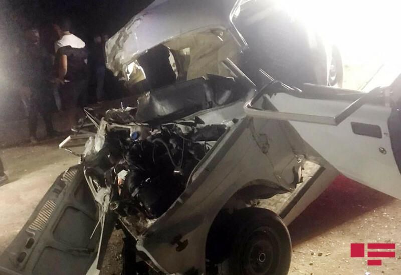 Страшная авария в Азербайджане, погибли 4 человека