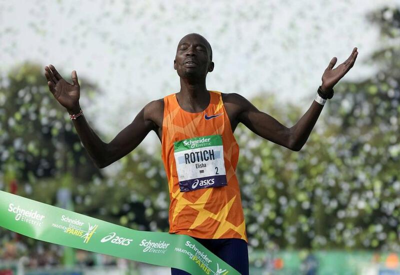 Кенийский атлет выиграл 44-й Парижский марафон с новым рекордом соревнования
