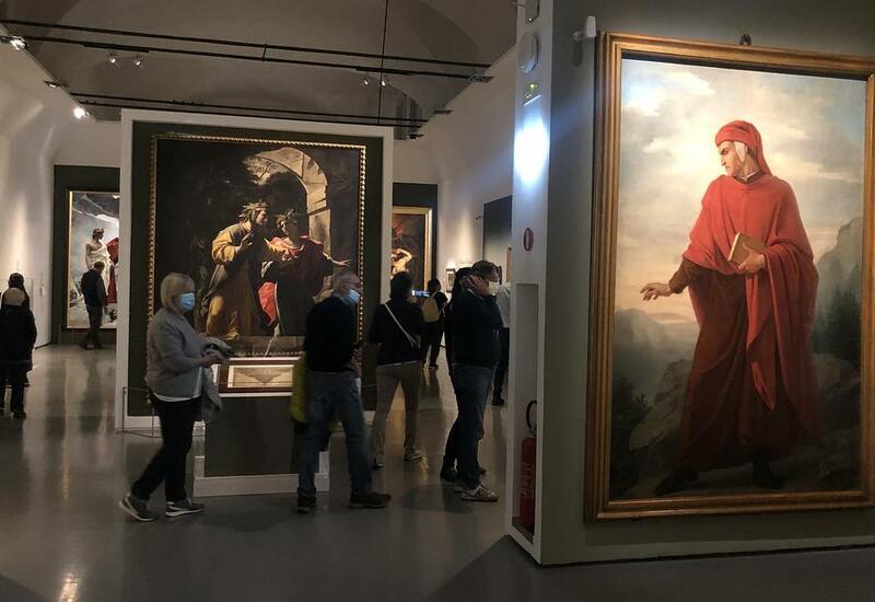 """В Риме проходит выставка """"Ад"""", приуроченная к 700-летию со дня смерти Данте"""