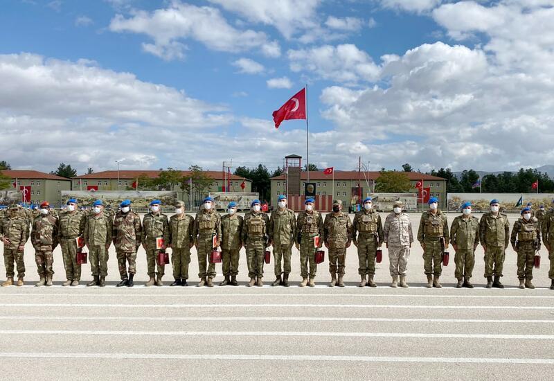Азербайджанские военнослужащие прошли курсы «Горный коммандос» в Турции