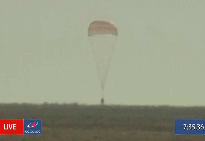 «Союз МС-18» с «киноэкипажем» совершил успешную посадку