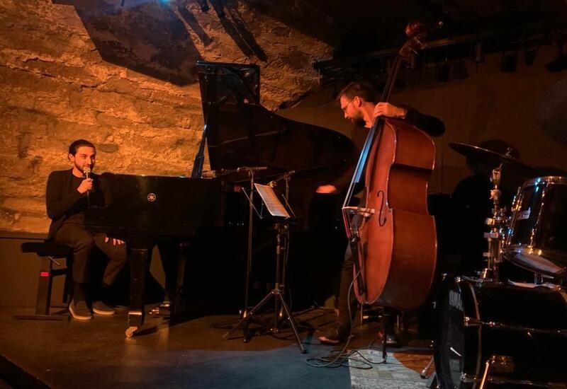 Первый концерт в рамках европейского турне трио Исфара Сарабского