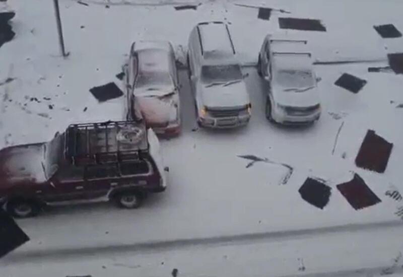 Жуткий ураган на Сахалине, есть погибшие