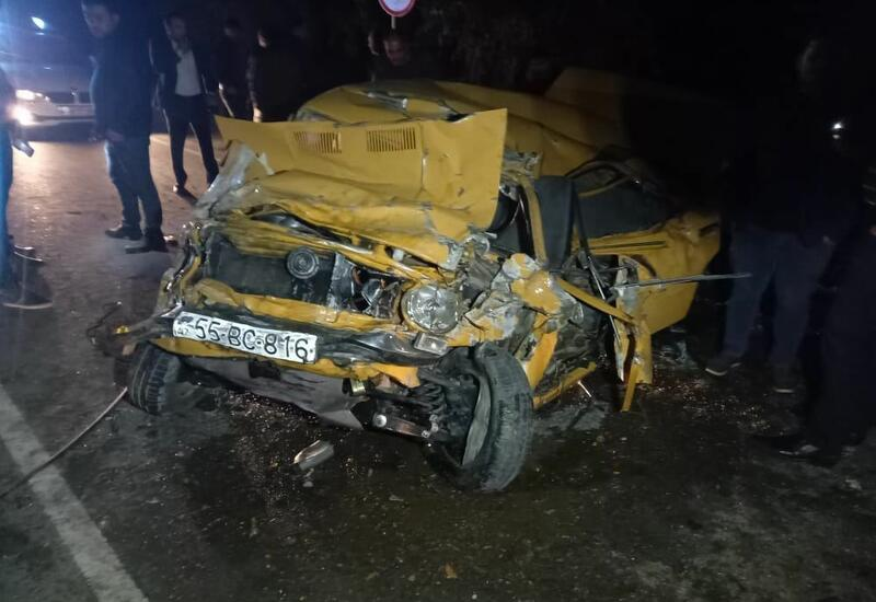 Тяжелое ДТП в Барде, пятеро пострадавших