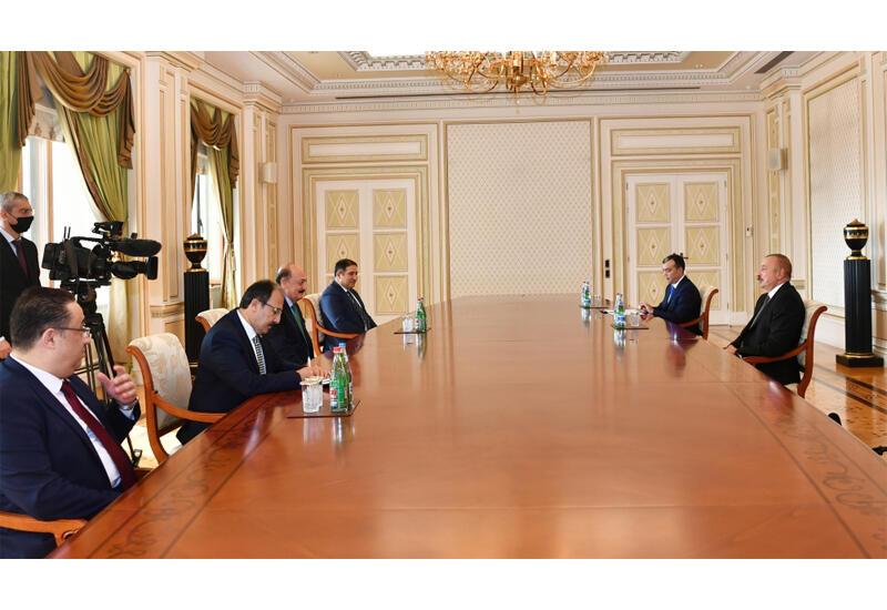 Президент Ильхам Алиев принял министра труда и социальной защиты Турции