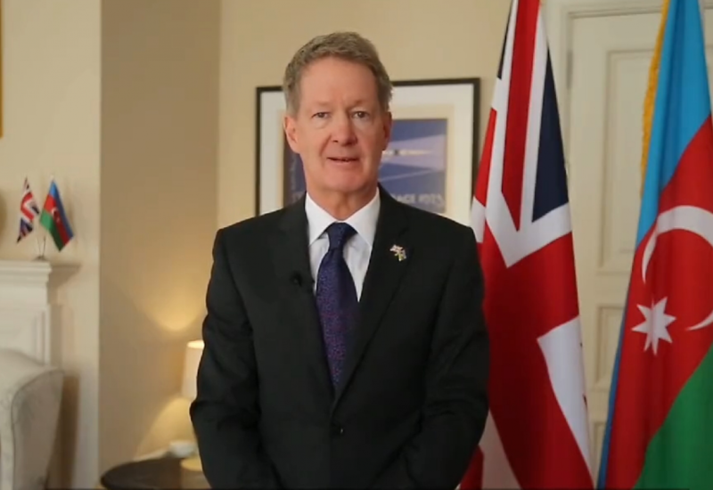 Британский посол поздравил азербайджанский народ на азербайджанском языке
