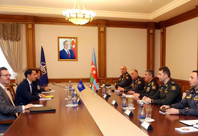 Азербайджан и НАТО обсудили дальнейшее развитие  взаимодействий