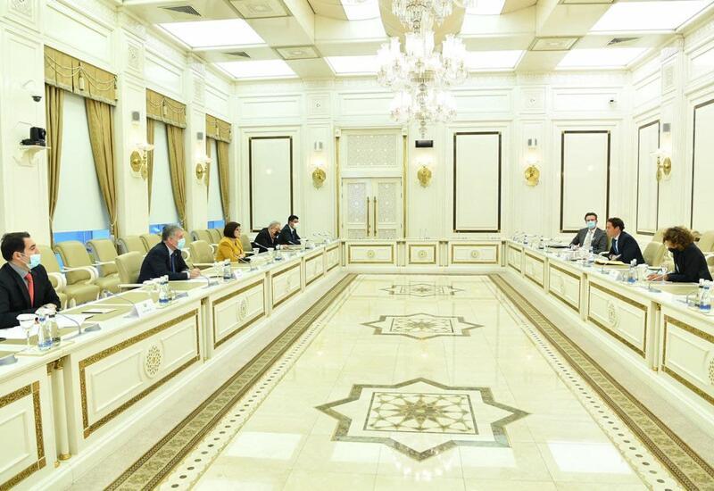 Сахиба Гафарова встретилась с делегацией НАТО