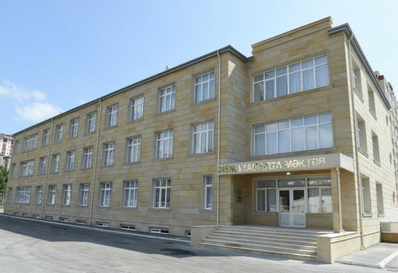 Еще одна бакинская школа перешла на дистанционное обучение