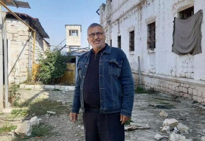 Дильгам Аскеров посетил Шушинскую тюрьму, в которой его держали почти 6 лет