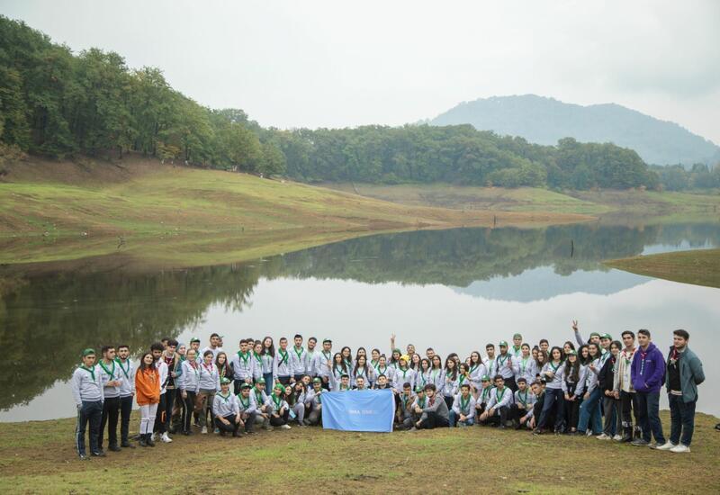 В Гирканском национальном парке организован очередной лагерь эко-скаутов