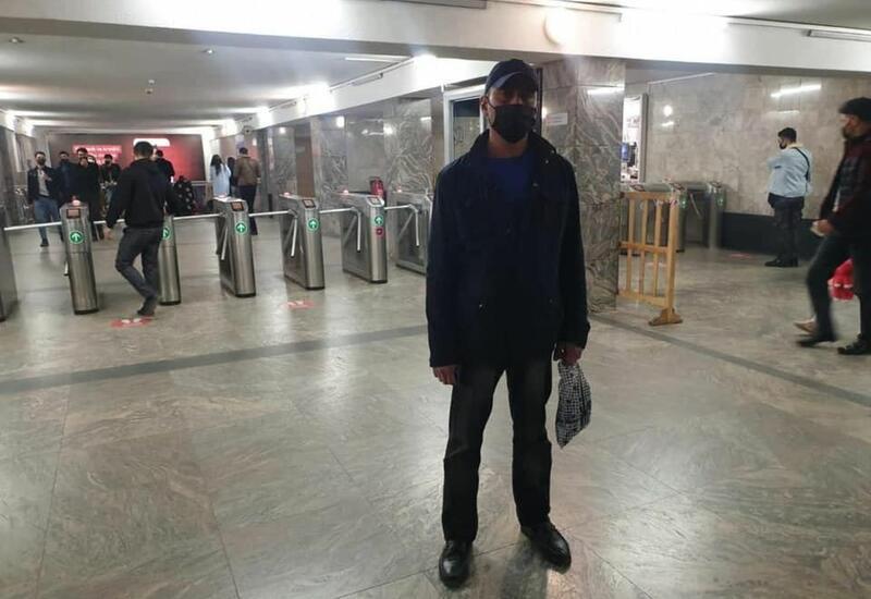 Больного коронавирусом задержали на станции «Кероглу»
