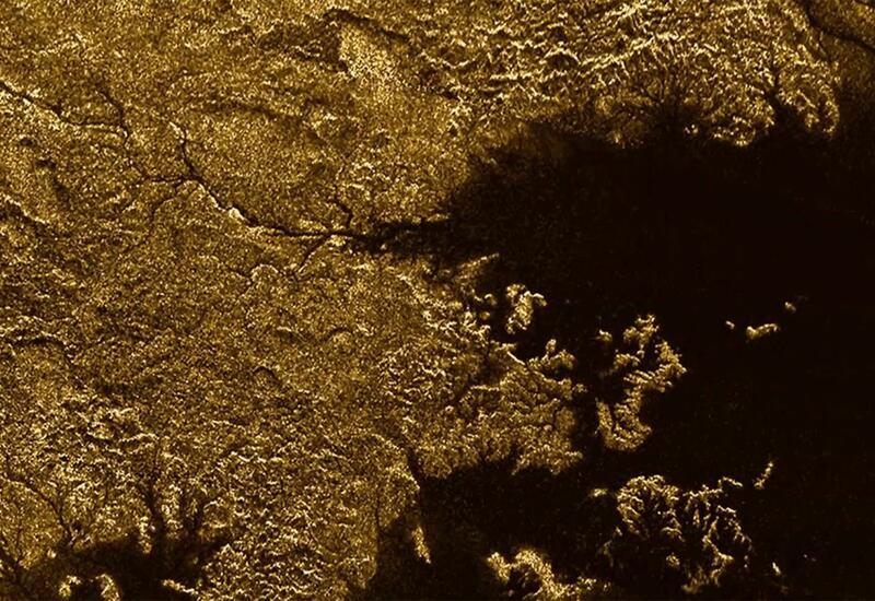 Американские ученые составили карту всех рек на Титане