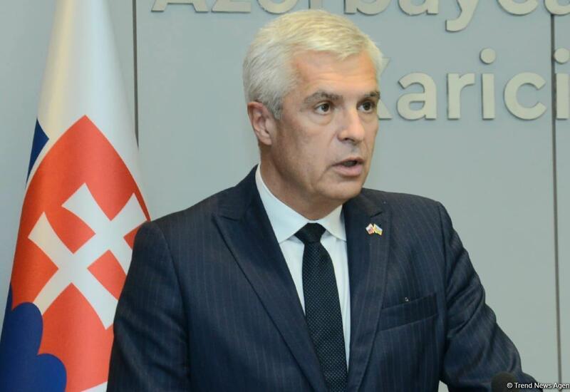 Словакия заинтересована в углублении отношений с Азербайджаном