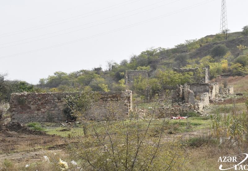 Разрушенный край – кадры из села Папы Джебраильского района