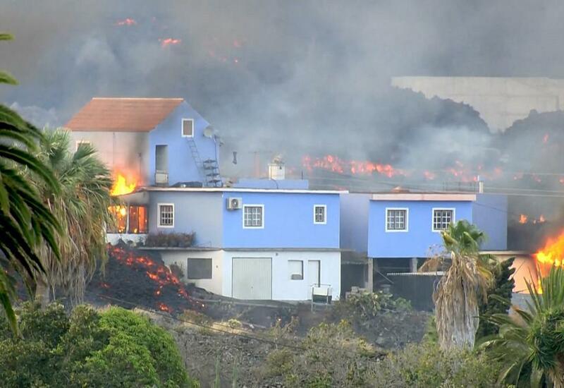 Извержение вулкана на Канарах длится уже ровно месяц