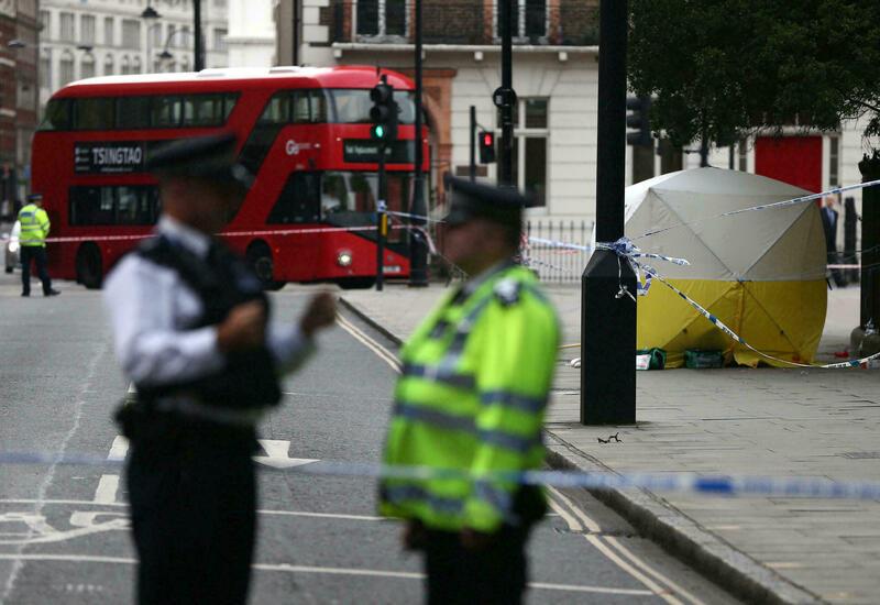 Нападение с ножом в автобусе в Лондоне