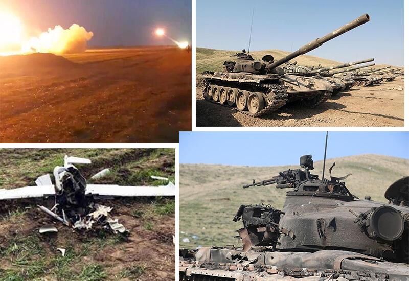 Хроника Победы: Новые успехи Азербайджанской армии, враг бежит