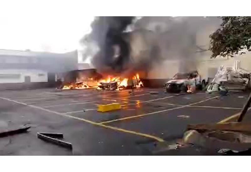 Акция протеста бывших военных у парламента Гватемалы переросла в беспорядки