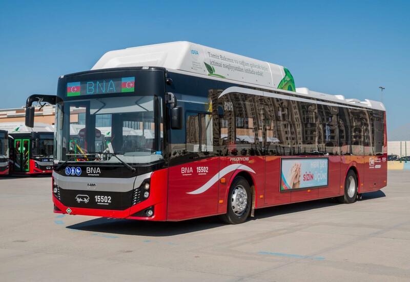 В Баку еще один автобусный маршрут передан в ведение ООО BakuBus
