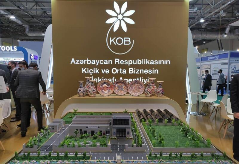 Агентство по развитию МСБ представлено специальным стендом на выставке Rebuild Karabakh в Баку