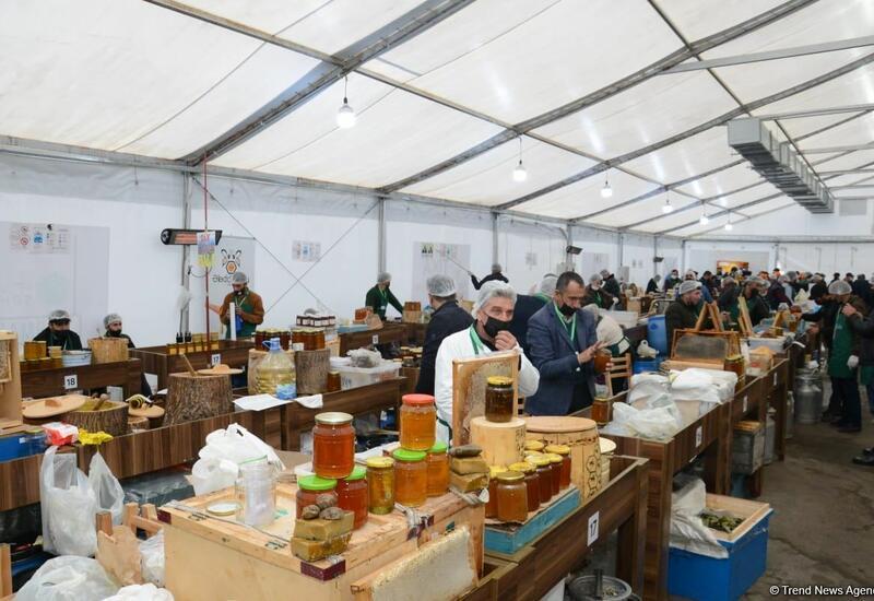 В Баку открылась ярмарка меда