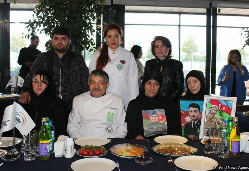 Азербайджанские кулинары – они сражались за Родину