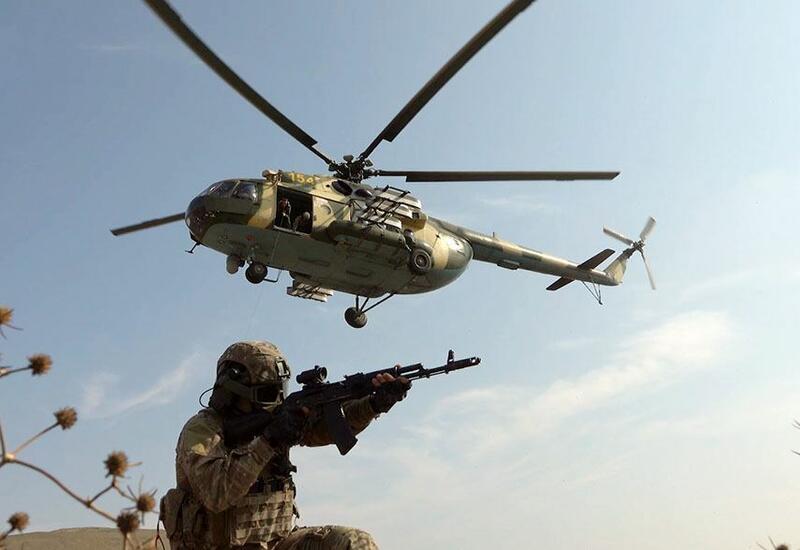 Азербайджанский спецназ совершенствует практические навыки взаимодействия с другими видами войск