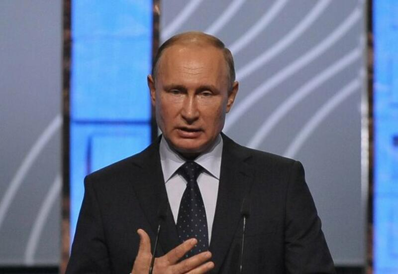 Путин заявил, что отрицать изменение климата в мире нельзя