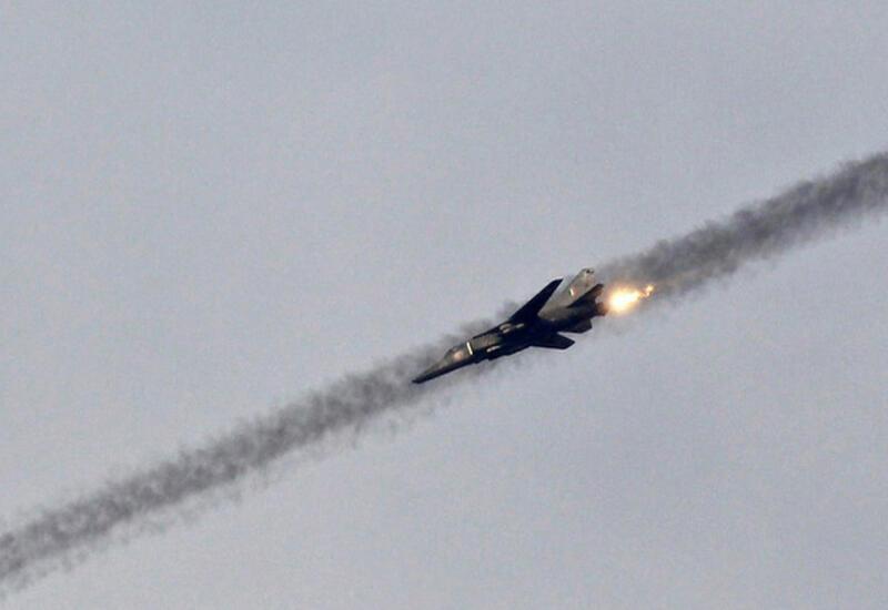 Самолет ВВС Индии потерпел катастрофу