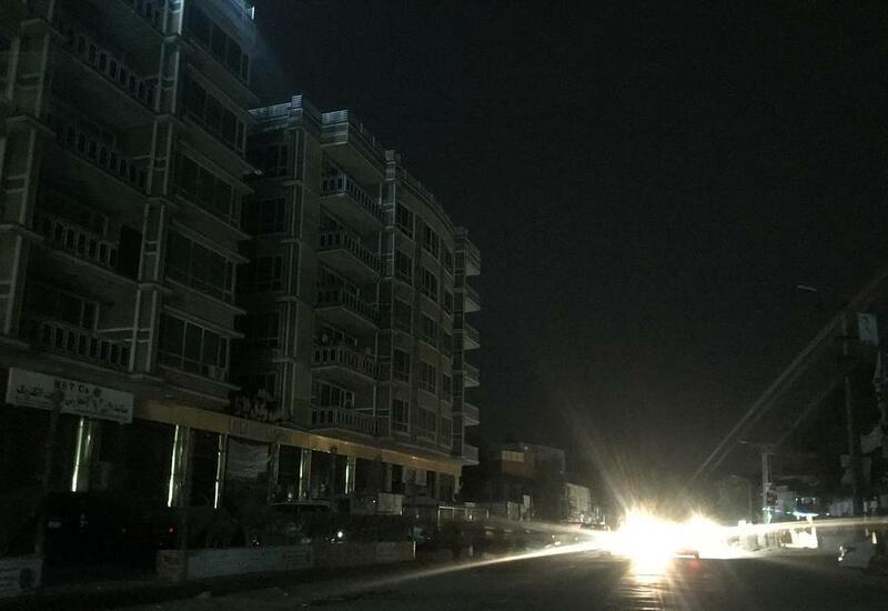 Кабул остался без электричества