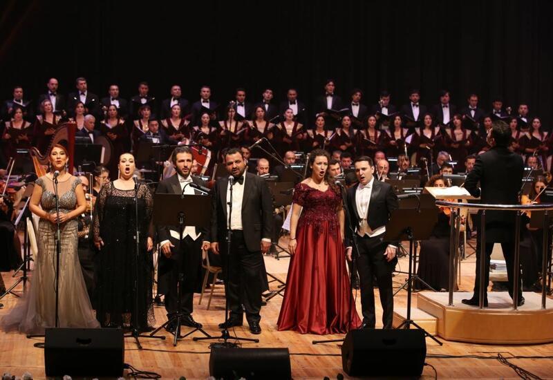 Грандиозная церемония закрытия II Азербайджанского международного фестиваля вокалистов