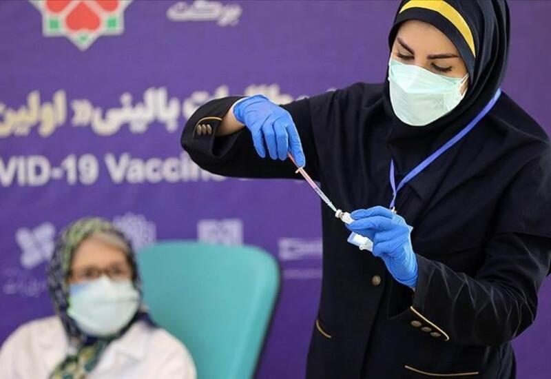 В Иране использовано 76 млн доз вакцины от коронавируса