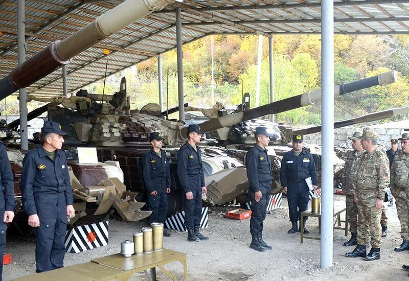 В Кяльбаджарском и Лачинском районах проверена готовность воинских частей к зиме