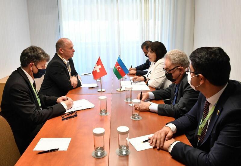 Азербайджан и Швейцария обсудили перспективы сотрудничества