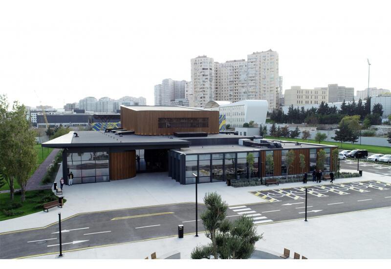 Президент Ильхам Алиев, Первая леди Мехрибан Алиева и их дочь Лейла Алиева приняли участие в открытии Центра инклюзивного развития и творчества DOST в Баку