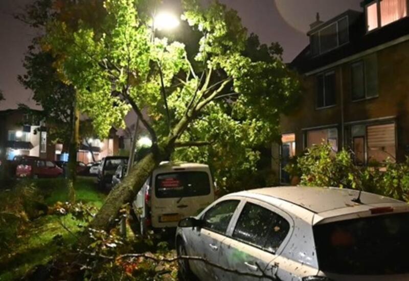 В Нидерландах и Франции бушует шторм