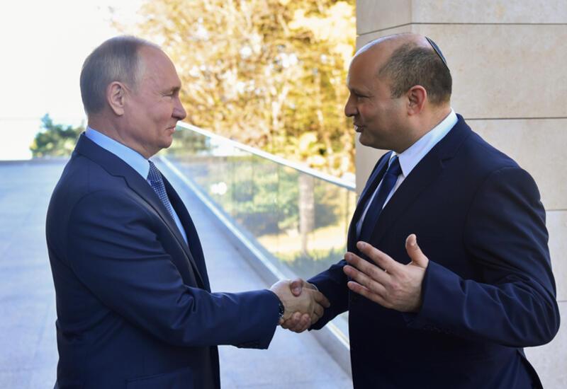 Путин заявил, что между Россией и Израилем сложились уникальные отношения
