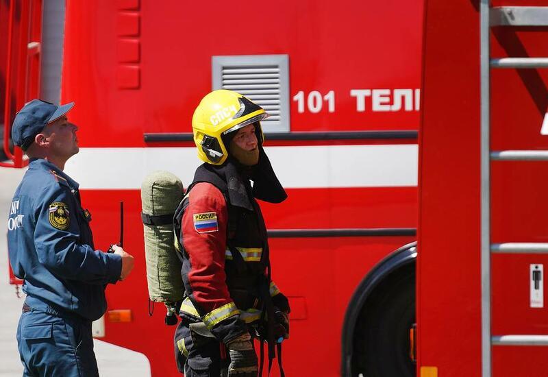 В России сгорел пороховой цех