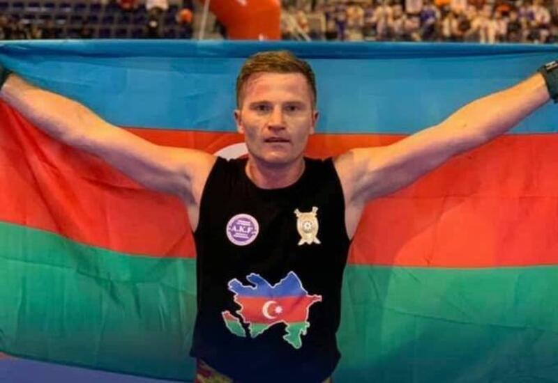 Эдуард Мамедов стал 26-кратным чемпионом мира и посвятил победу памяти шехидов Карабахской войны