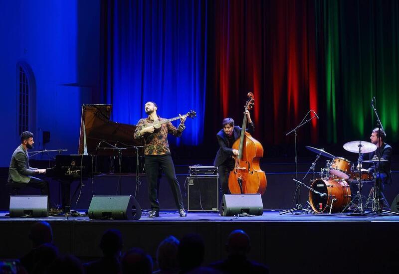 В Страсбурге прошел этно-джазовый концерт, посвященный 30-летию восстановления независимости Азербайджана