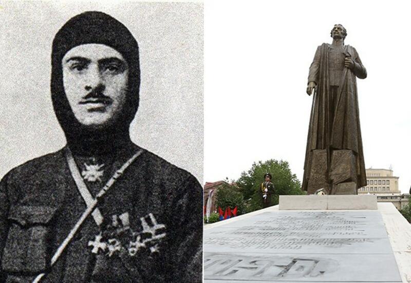 Армяне пропагандируют нациста Нжде и обвиняют в расизме Азербайджан
