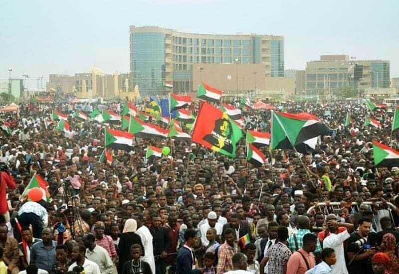 В Судане огромные протесты по всей стране