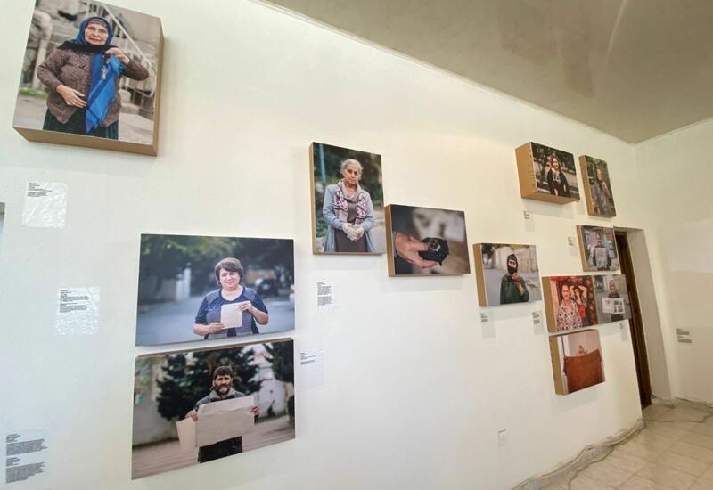 "YARAT представил в Барде выставку ""Dumanlar başımda dastana döndü"""