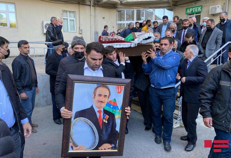 Состоялась церемония прощания с Джанали Акберовым
